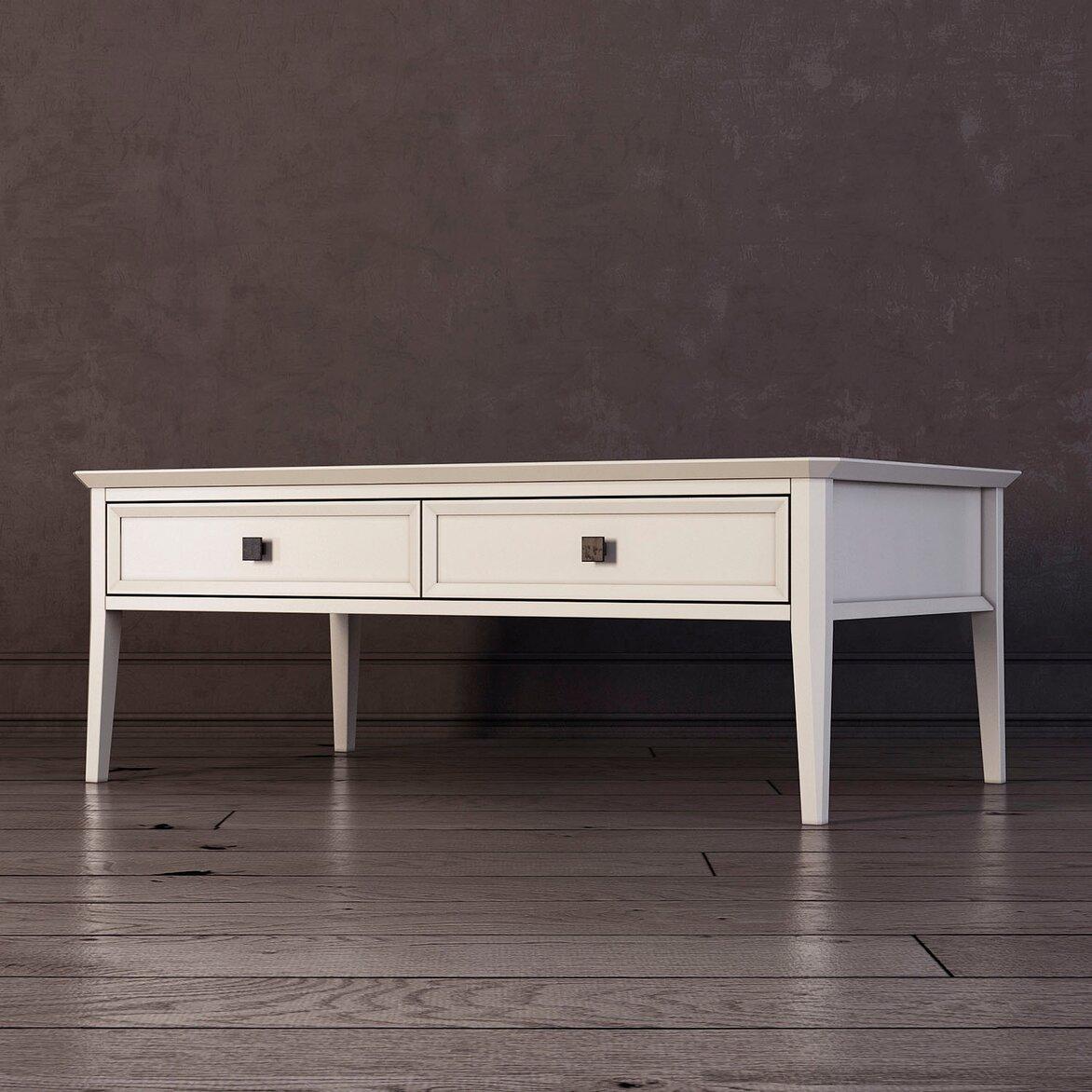 Журнальный столик Ellington, белый (полуоборот)