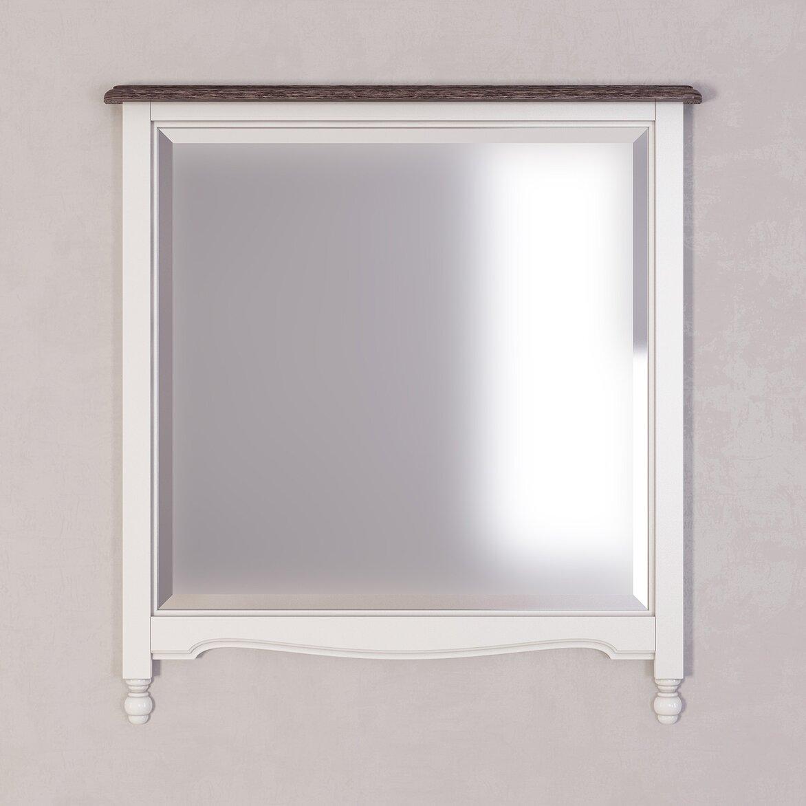 Зеркало прямоугольное Leblanc, белое