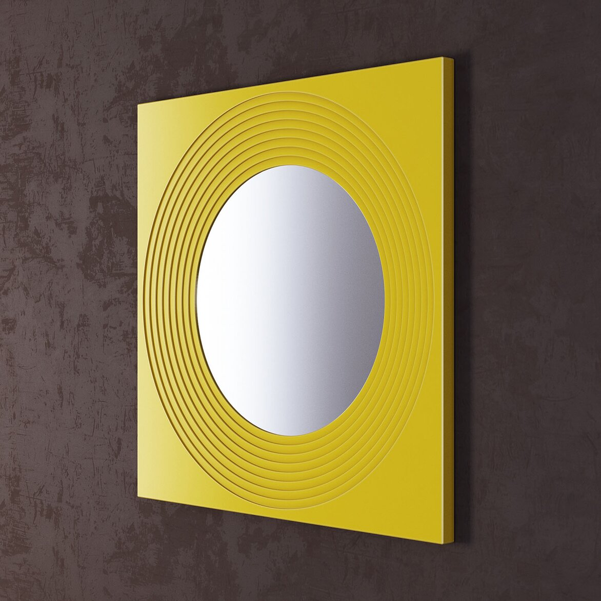 Зеркало Town Yellow (полуоборот)
