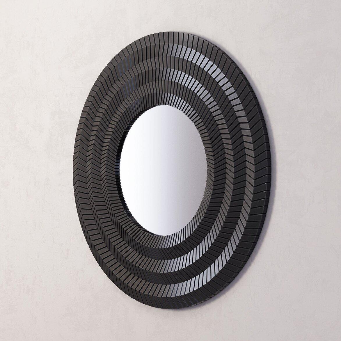 Зеркало Millennium Black (полуоборот)