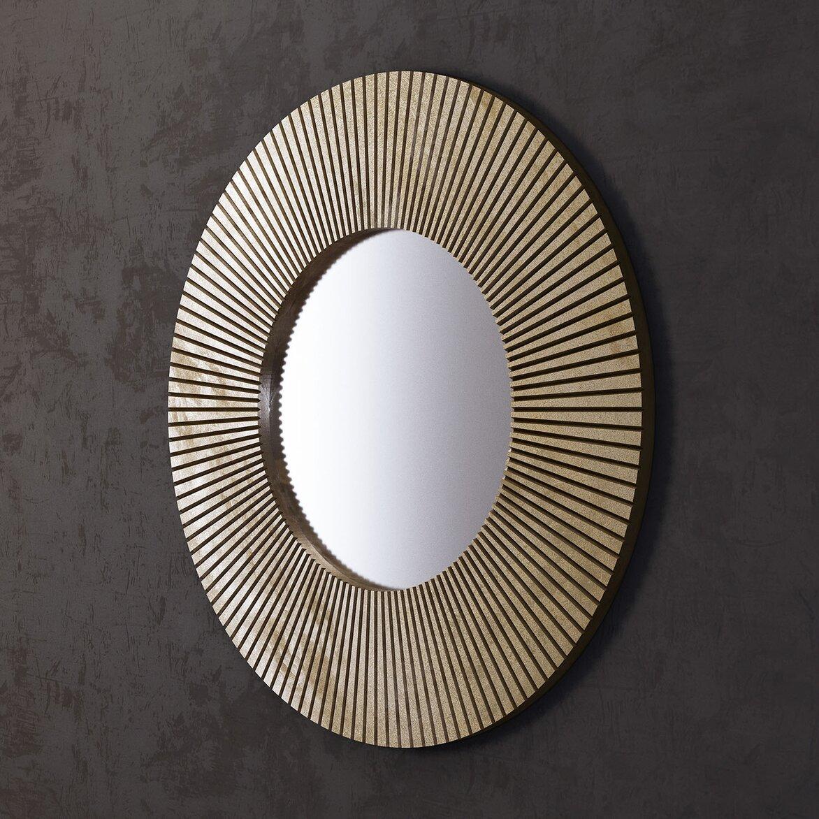 Зеркало Sunshine, круглое (полуоборот)