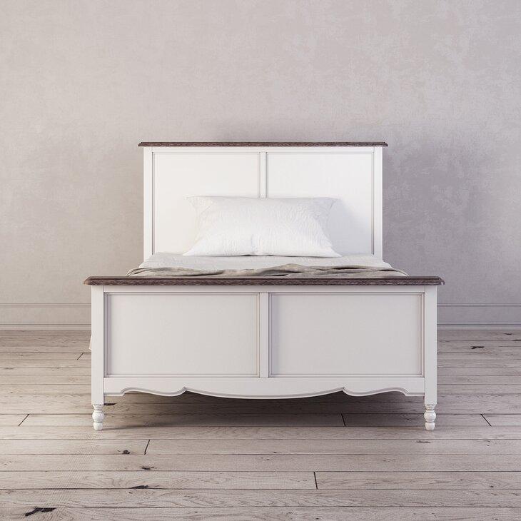 Кровать односпальная 120*200 Leblanc, белая