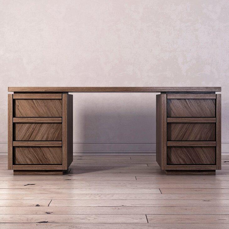 """Письменный стол с 6-ю ящиками """"Brenson"""""""