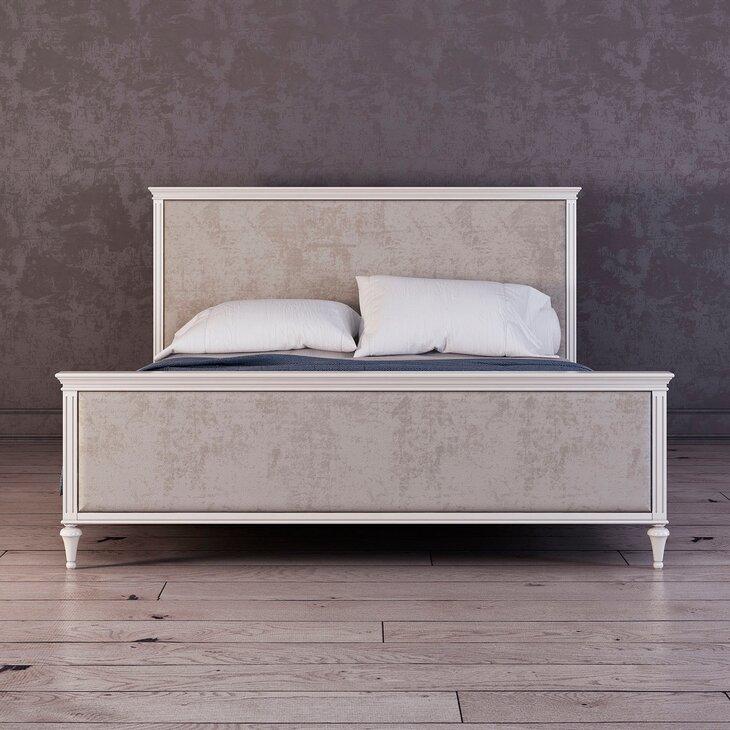 Кровать с мягким изголовьем 160*200 Riverdi