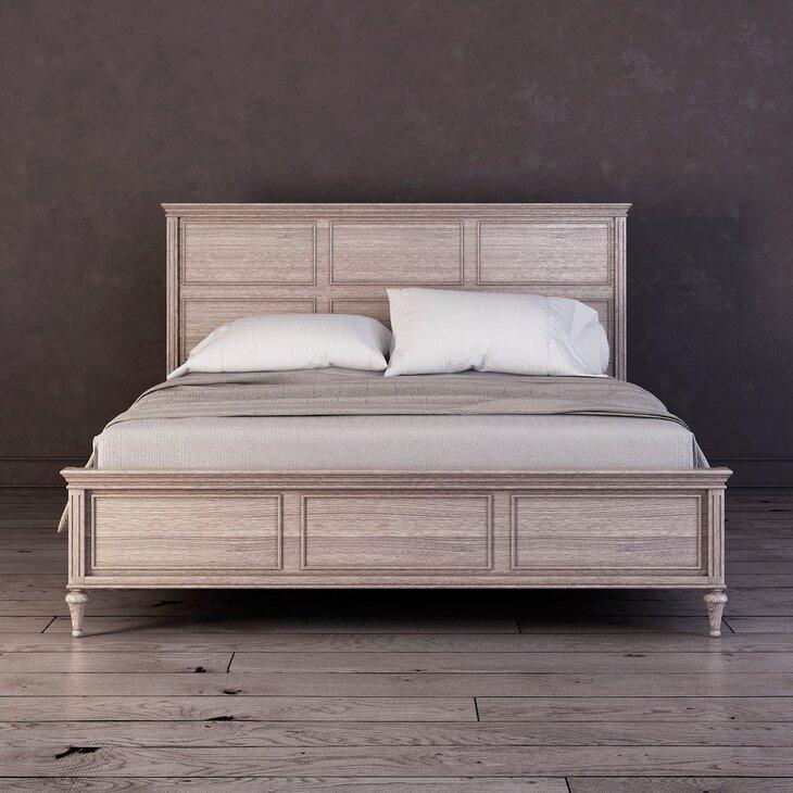 Кровать Riverdi, светлый дуб