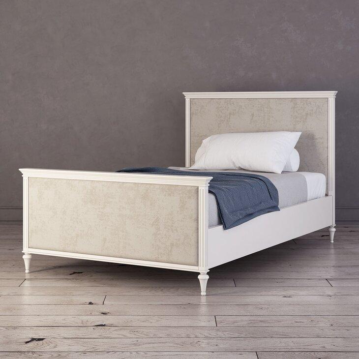 Кровать Riverdi, односпальная, c изножьем