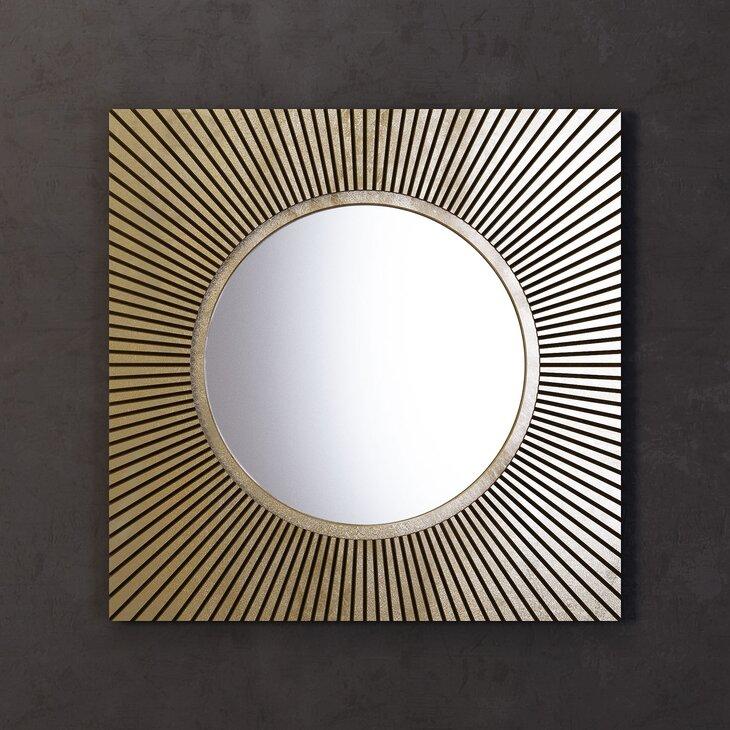 Зеркало Sunshine, квадратное