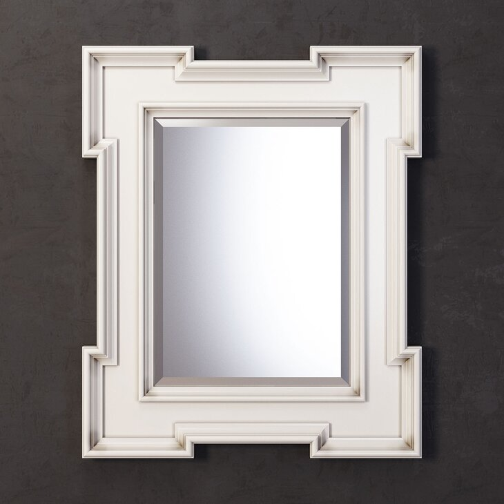 Зеркало Preston, Ivory